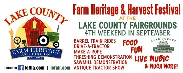 LCFHA Farm Heritage & Harvest Festival