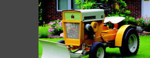 1965 International Cub Cadet Model 100 with snow plow